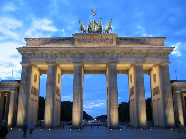 La Puerta de Brandeburgo en Berlin