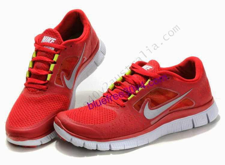 Red Black And White Running Shoes