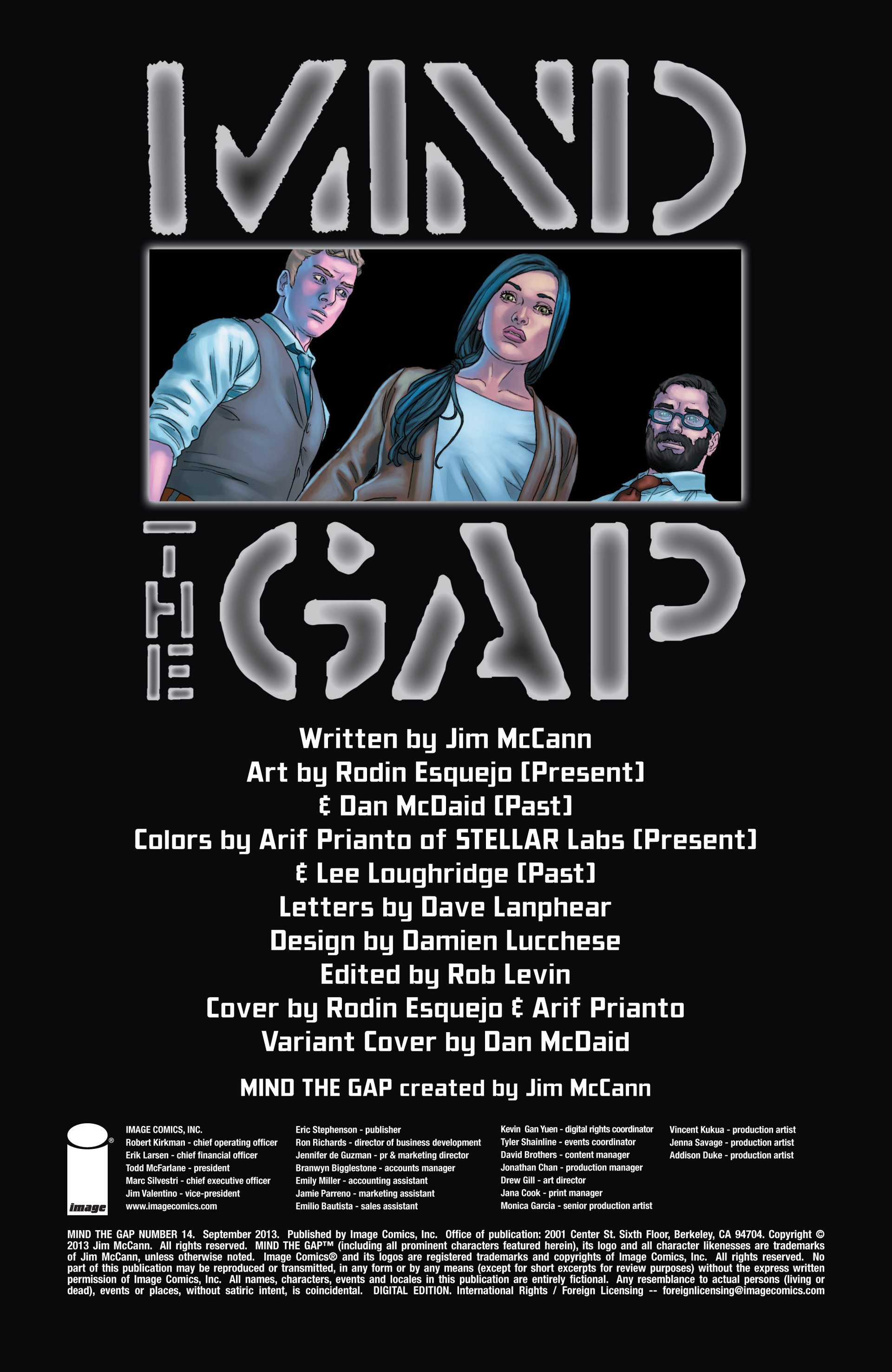 Read online Mind The Gap comic -  Issue #14 - 2