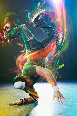 breack danse - photshop - 3d dance wallpapers