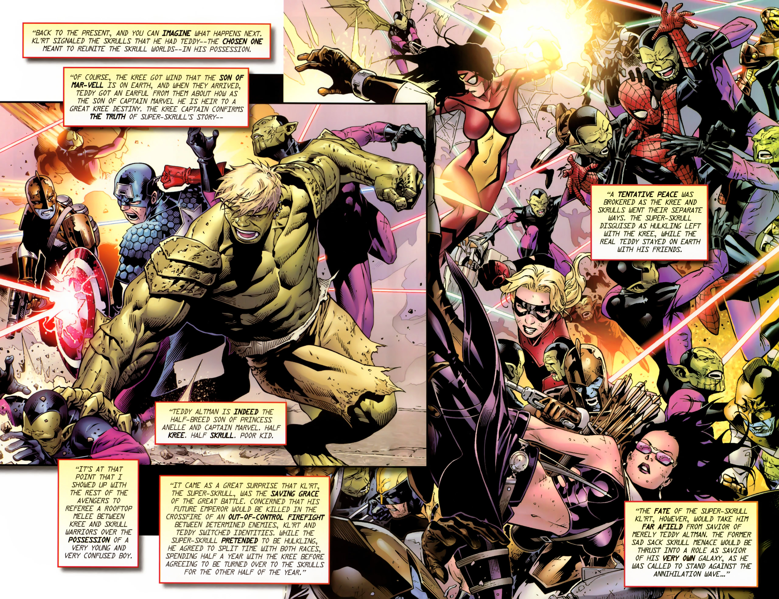 Read online Secret Invasion: The Infiltration comic -  Issue #11 - 23