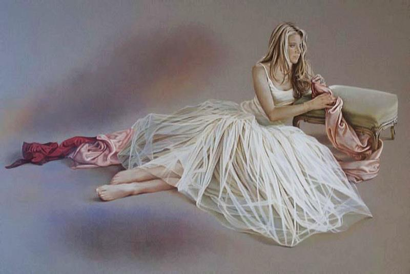 Kay Boyce | British Figurative painter and Illustrator