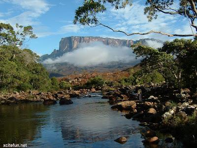 (Guyana, Venezuela and Brazil) - Mount Roraima