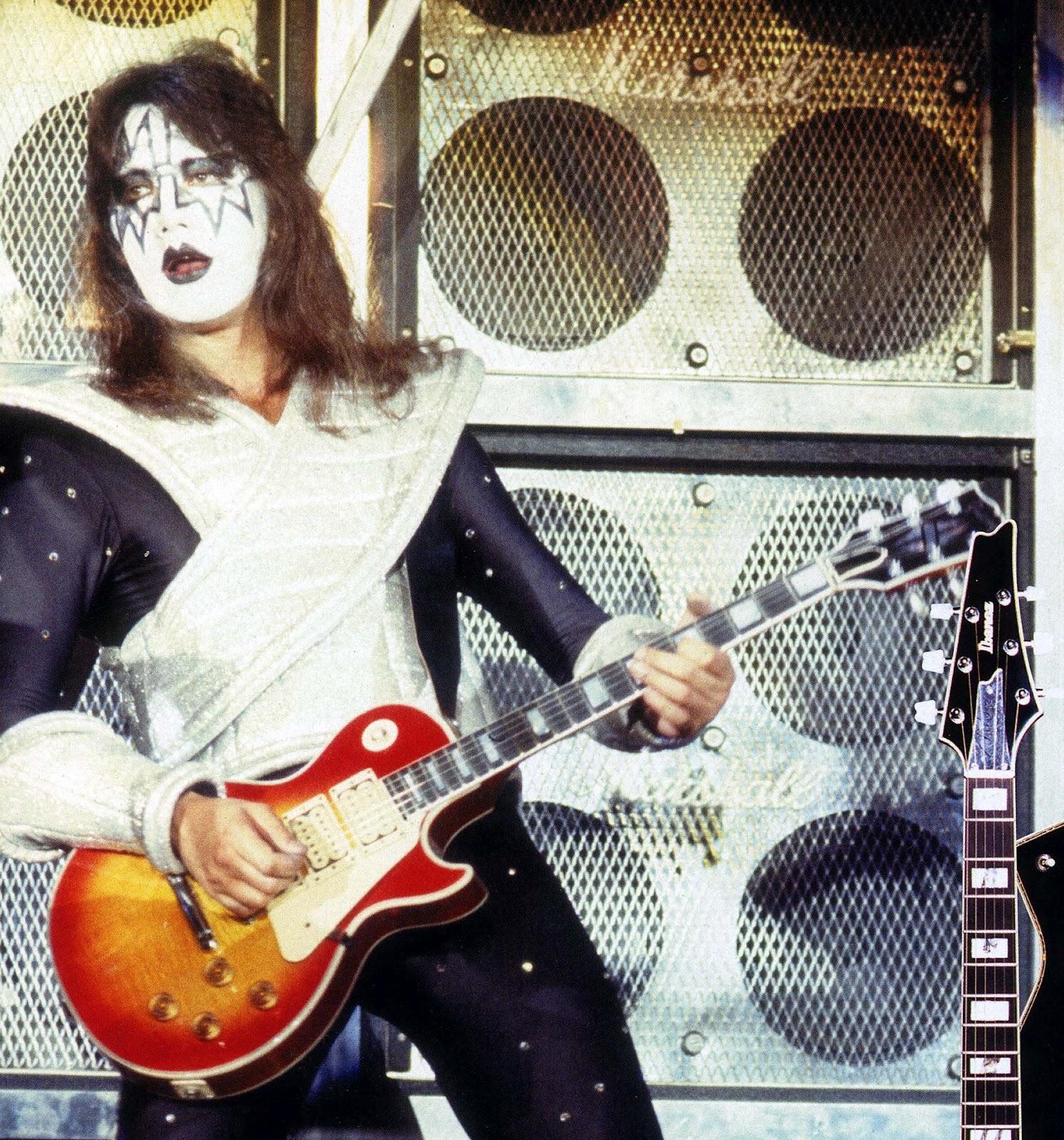 Kiss alive ii love gun marshall speaker cabinet