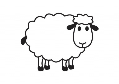 Mi colecci n de dibujos ovejas for Byu coloring pages
