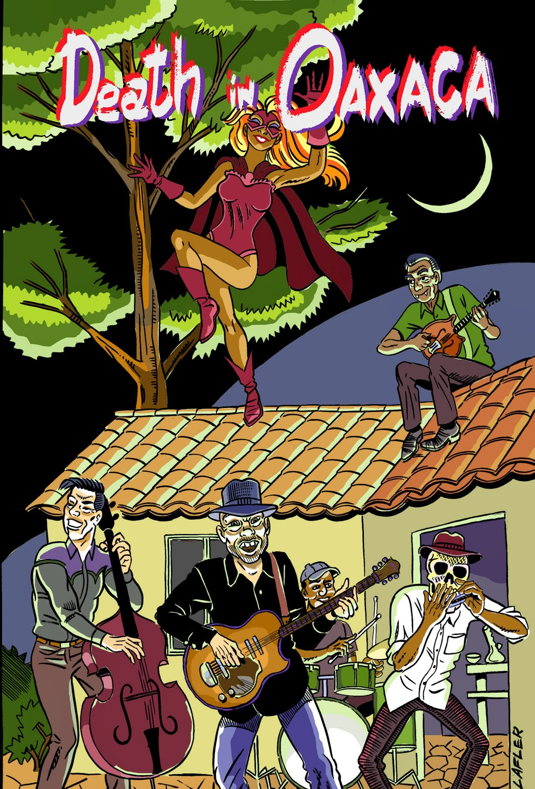Order Death in Oaxaca Ebook from Comixology
