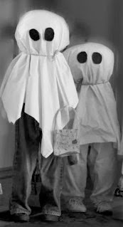 Vintage home made halloween costumes