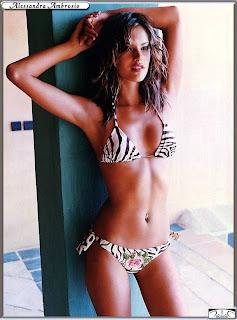 Alessandra Ambrosio in Bikini Picture Gallery