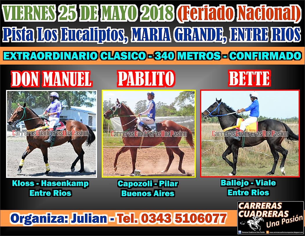 MARIA GRANDE - 25.05 - CLASICO 340