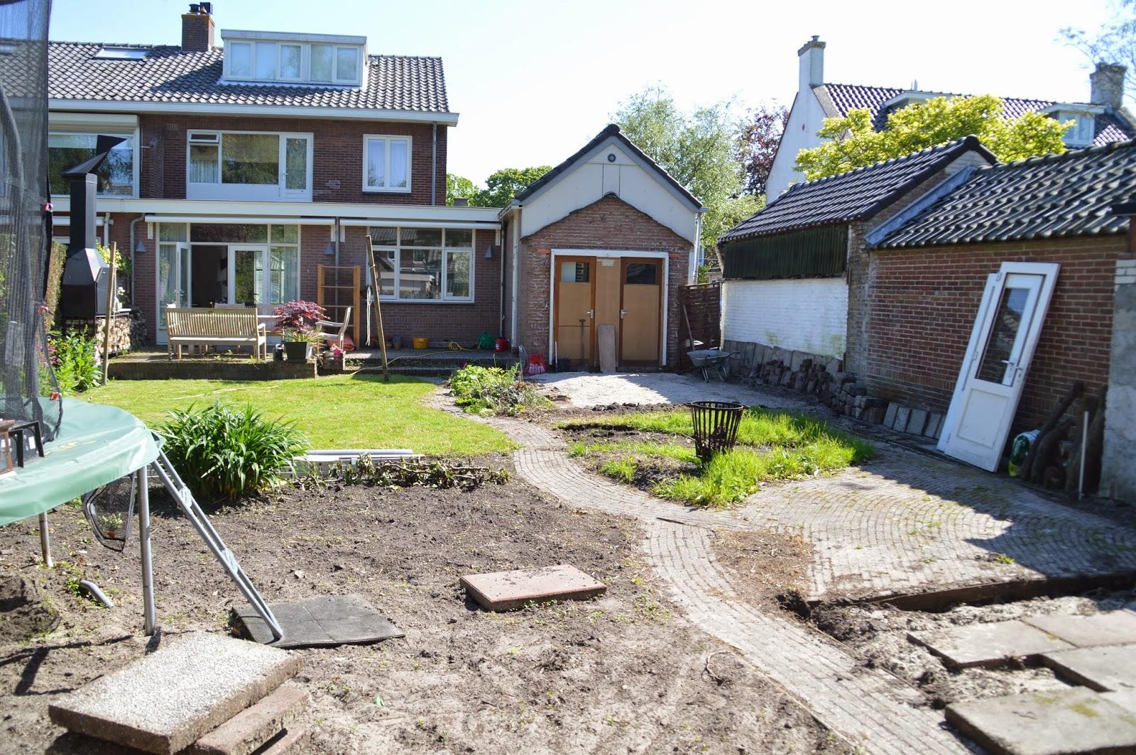The renovation part for 14 m4s garden terrace