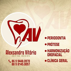 CONSULTÓRIO DE ODONTOLOGIA Dra. ALEXSANDRA VITÓRIO