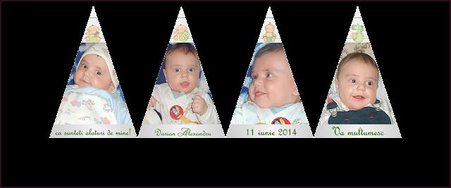marturii botez cutiuta piramida cu foto