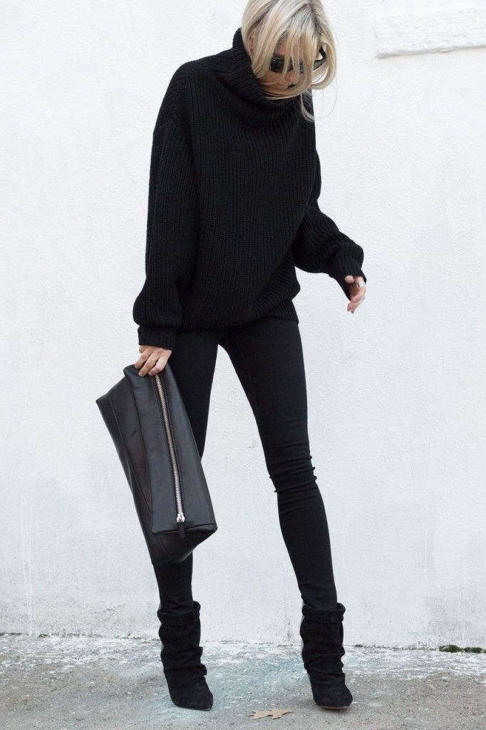 Find the latest and trendy styles of black sweater at ZAFUL. We are pleased you with the latest trends in high fashion black sweater.
