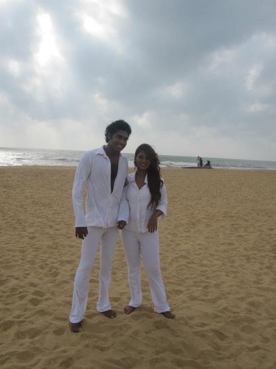 Upeksha Swarnamali And Akalanka Ganegama Sri Lankan MP Upeksha ...