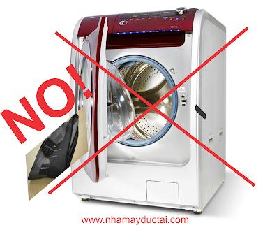 """Nhà may Đức Tài - Giặt áo vest - Nói """"Không"""" với máy giặt"""
