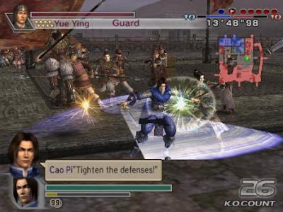 Screenshot 2 - Dynasty Warrior 5 | www.wizyuloverz.com
