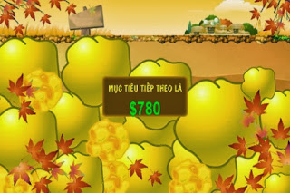 Game đào vàng mùa thu
