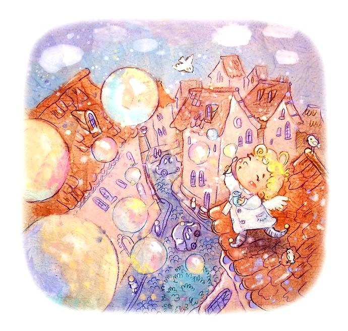 акварельные иллюстрации Анастасии Столбовой