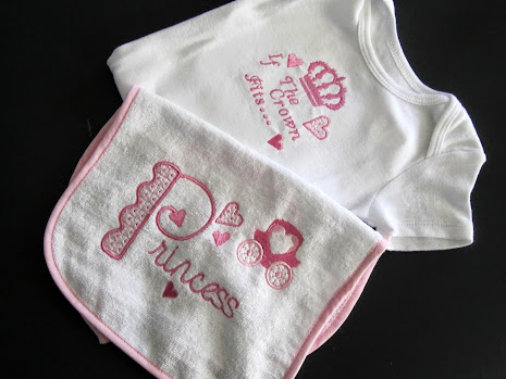 Princess Baby Set