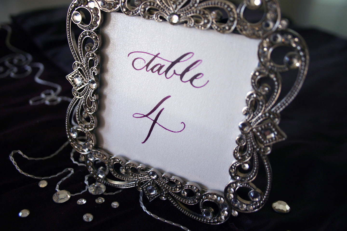 emmay design: Fancy Frames for Table Numbers