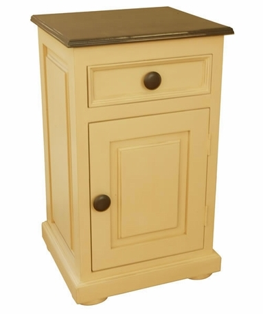 Nursery night stand bedside tables nightstands library end table