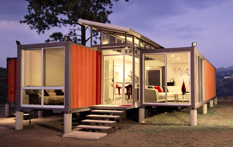 Shipping container homes containers of hope costa rican shipping container house - Container homes florida ...