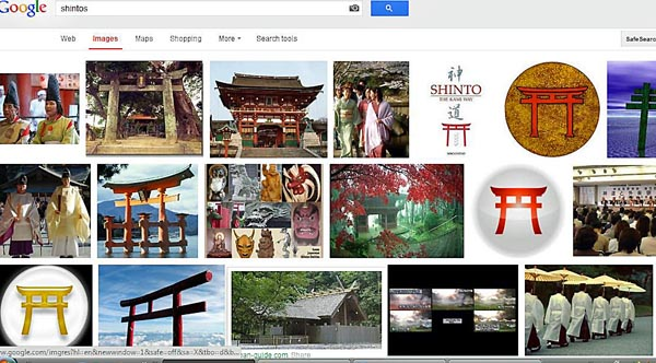 google search results for Shintos