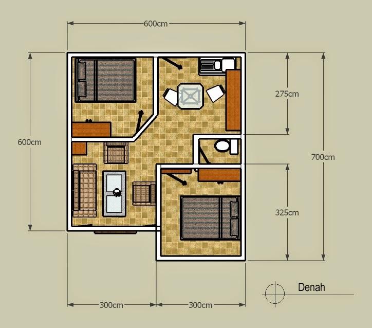 desain rumah mungil
