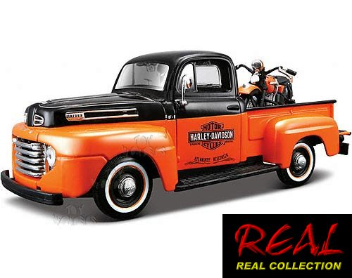 REAL COLLECTION 32171 48 FL PANHEAD 48 FORD F 1 PICKUP