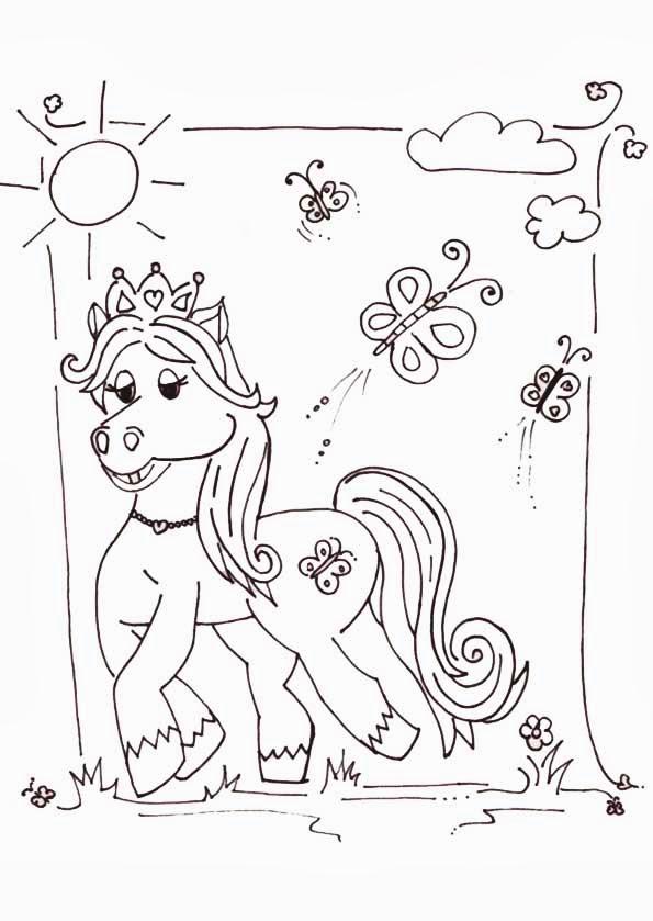 Malvorlagen Filly Pferdchen - Malvorlagen Filly Pferde gratis und kostenlose - Pinterest