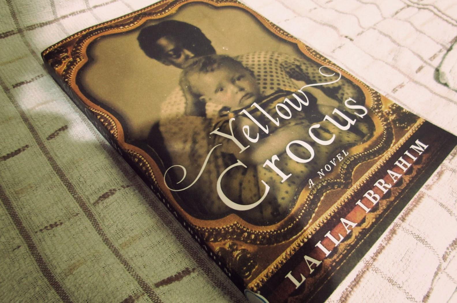 Laila Ibrahim, Yellow Crocus, historical fiction, slavery, mammy, black wet nurse, literature, review, book review
