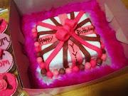 Vivian's Present Cake