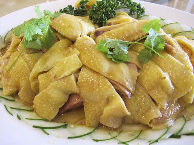 Tao Yuan Restaurant's Hainanese Chicken