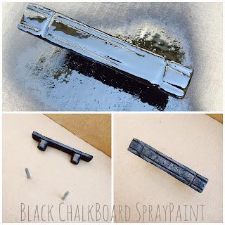 Black Chalkboard SprayPaint