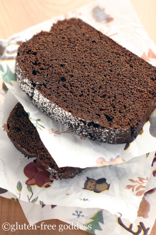 Gluten-Free Chocolate Gingerbread Recipe | Gluten-Free Goddess Recipes