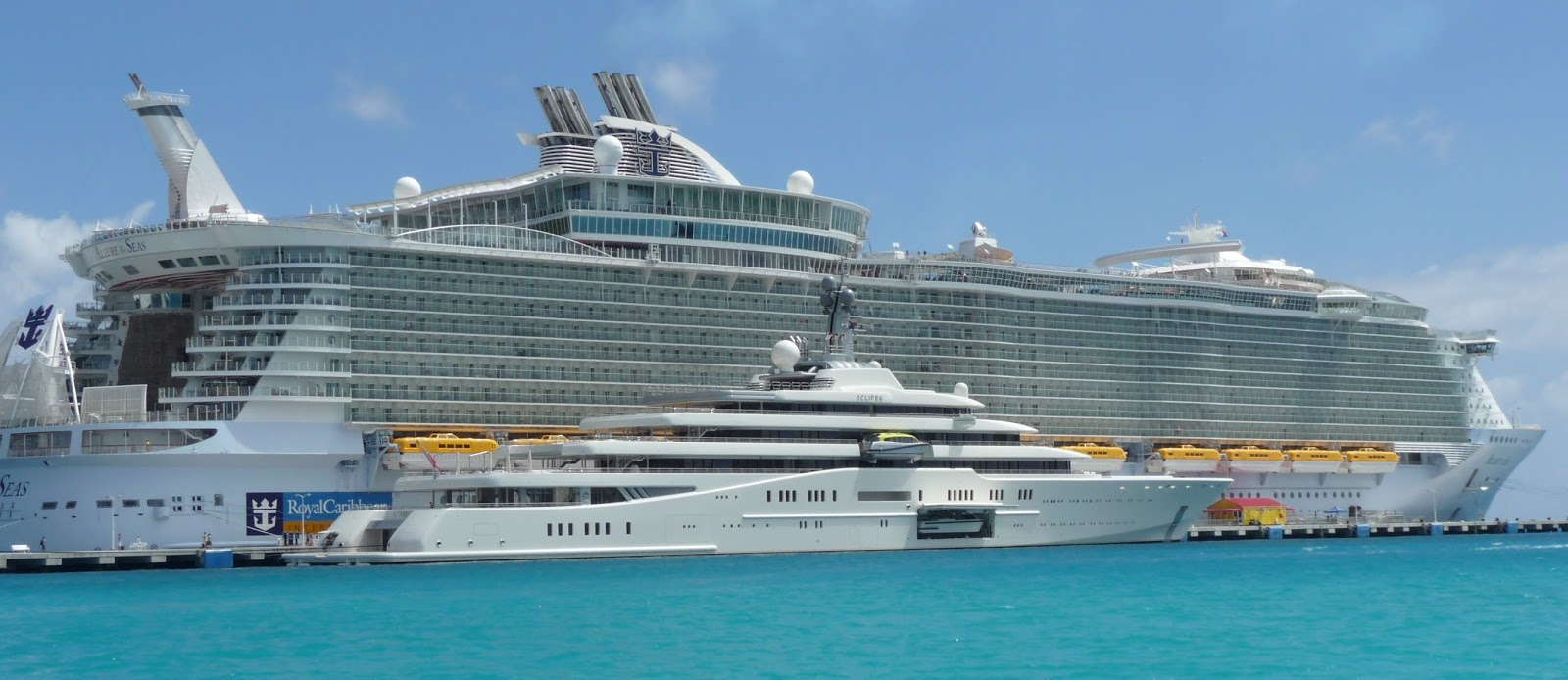 Allure of the Seas + Eclipse