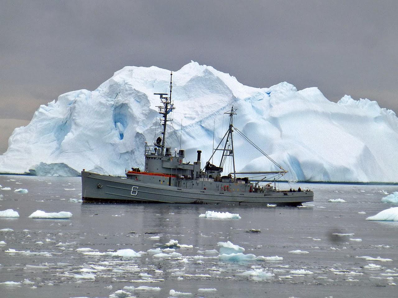 Around the World With Uncle Moose Antarctica Cierva