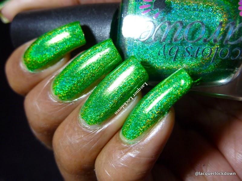 Lacquer Lockdown: Halloween 2014: Colors by Llarowe Gemini Rising ...