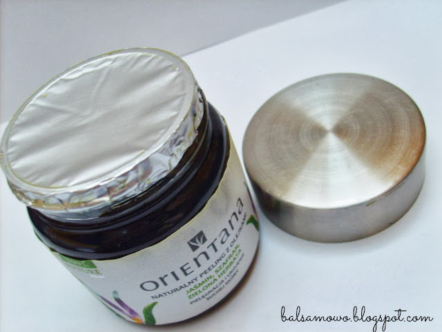 Orientana Naturalny peeling z olejkami jaśmin szafran zielona herbata