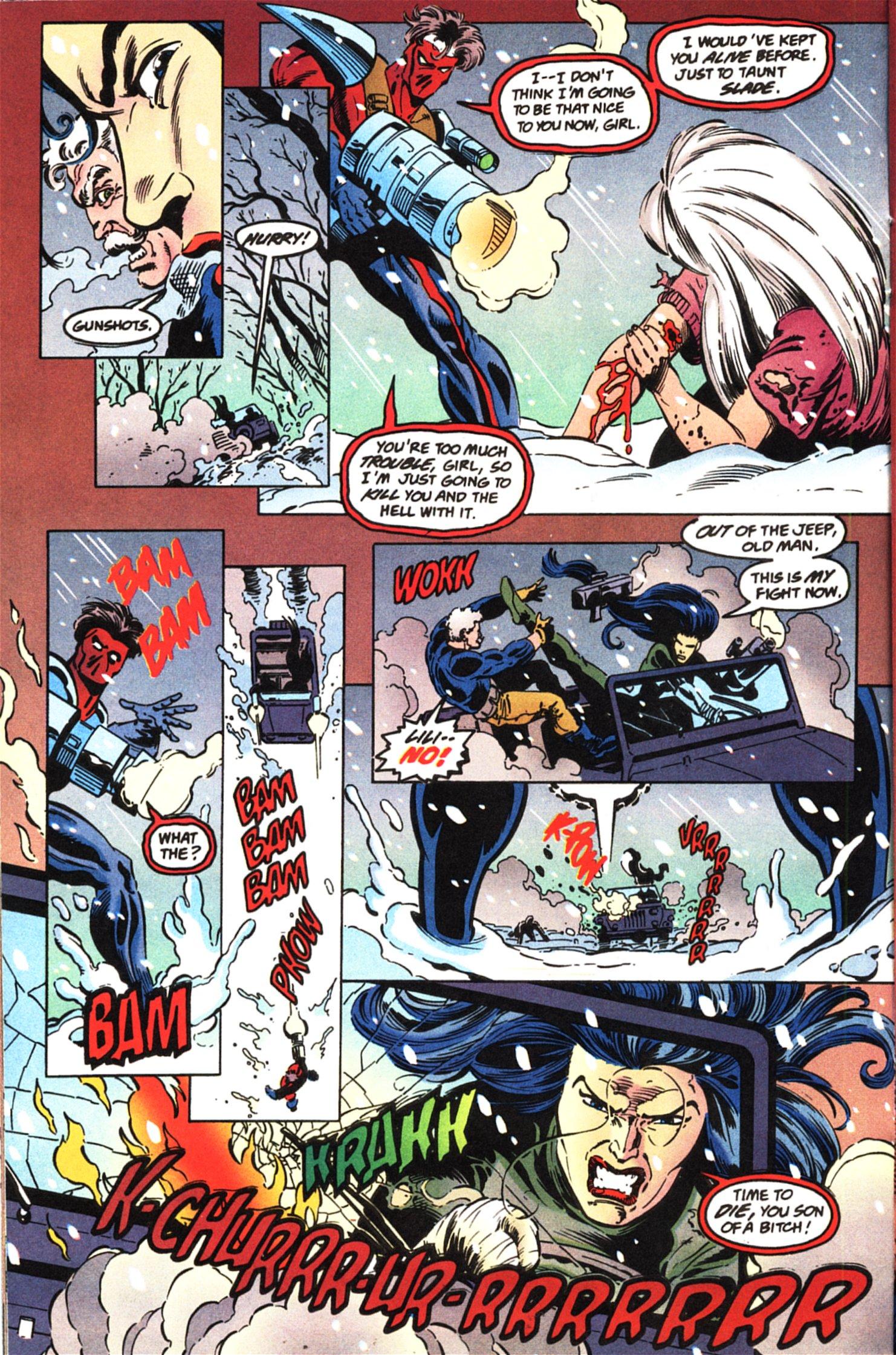 Deathstroke (1991) Issue #45 #50 - English 12