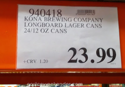 24 Pack of Kona Brewing Company Longboard Island Lager Beer at Costco