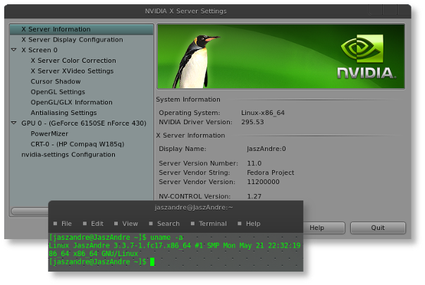 Fedora 17 Nvidia Driver