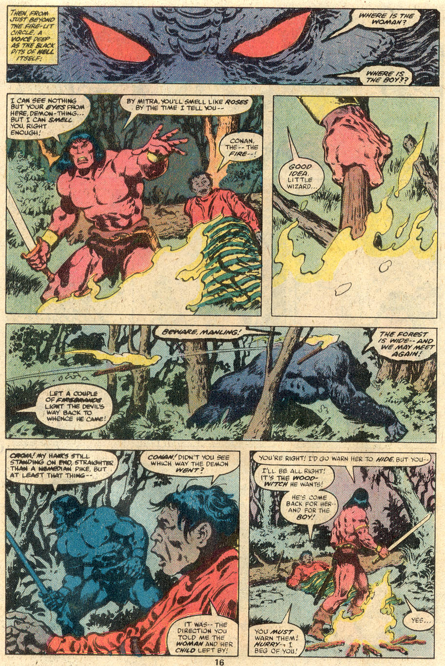 Conan the Barbarian (1970) Issue #113 #125 - English 11