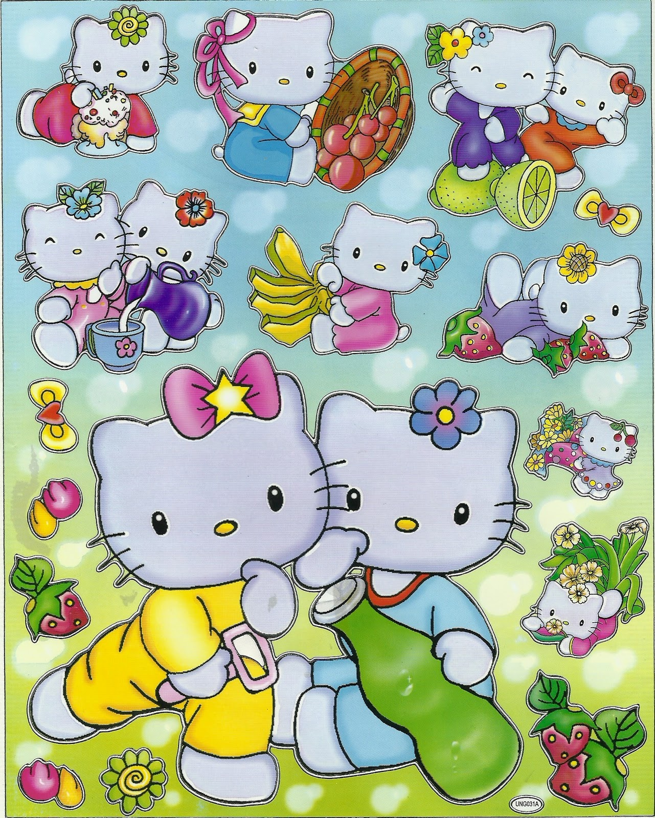 Figuras Hello Kitty Para Decoupage Decoupagebr