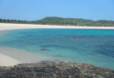 pasir putih pantai kuta