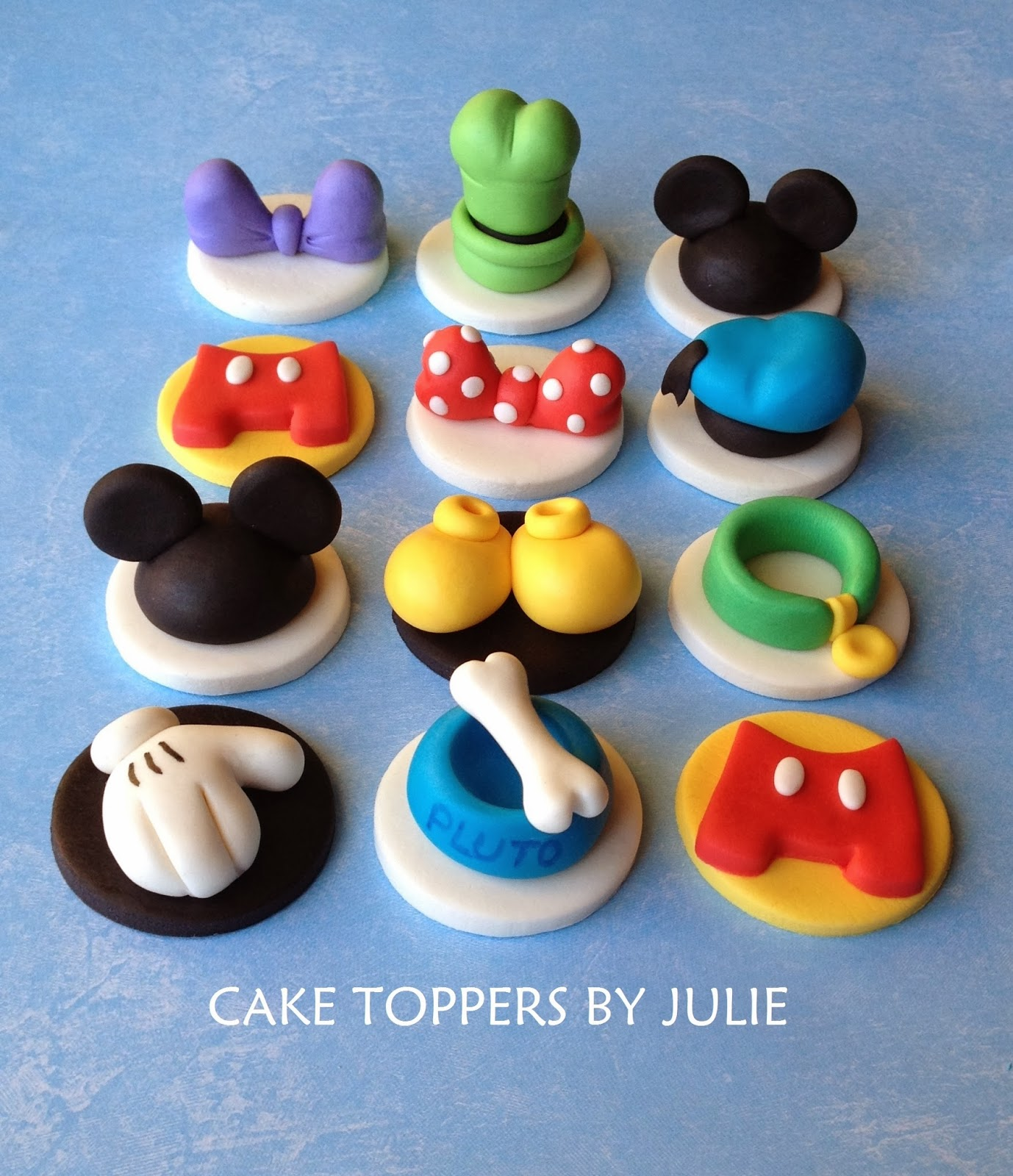 Mickey Mouse Figurines For Cakes Nz