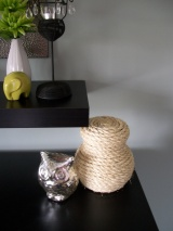 Sisal Rope Container