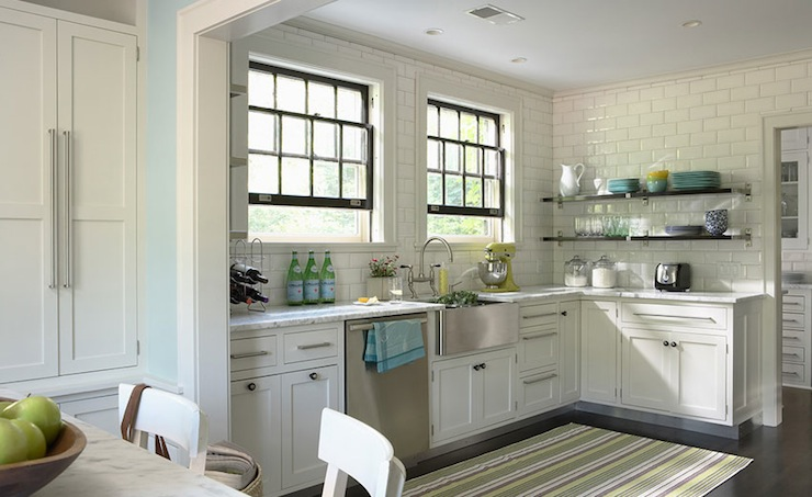 Green Gray Kitchen Tiles are cool, white gray granite ( what I am