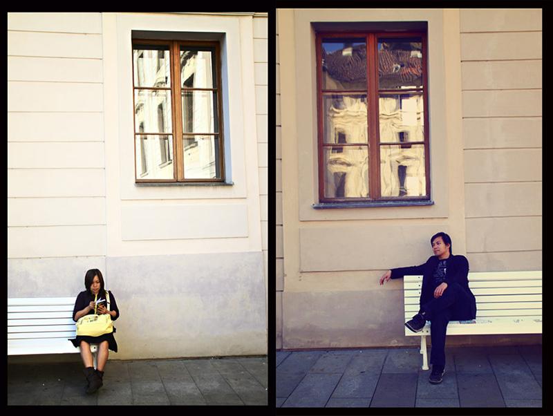 Prancing in Prague 3