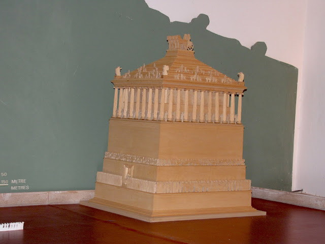 Turquía, mausoleo de Halikarnaso